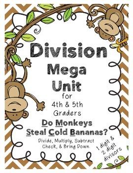 Division Mega Unit (One and Two Digit Divisors)