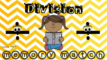 Division Memory Match Game