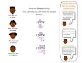 Division Mini Anchor Charts