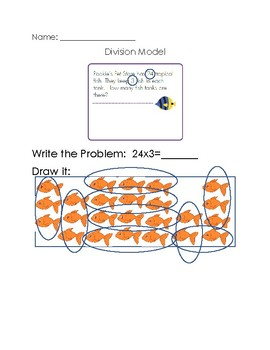 Division Model Poster (Teaching Strategy)