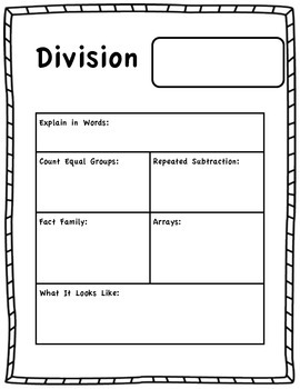 division model worksheet by michelle moon teachers pay teachers. Black Bedroom Furniture Sets. Home Design Ideas