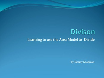 Division Models for Common Core
