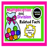 Division Multiplication Related Facts Around the Room