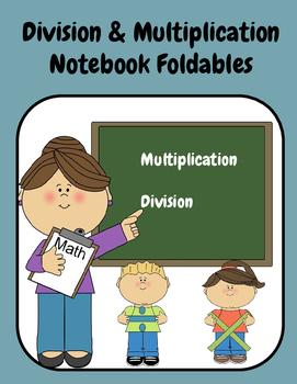 Division/Multiplication Foldables