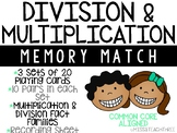 Division & Multiplication Memory Match