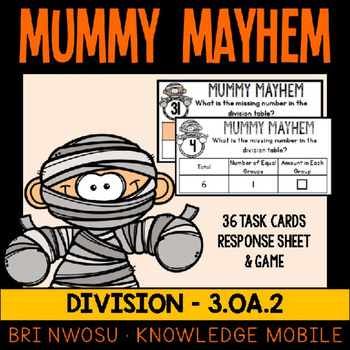 Division - Mummy Mayhem -  3.OA.2