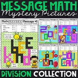 Division Mystery Pictures | Division Color by Number