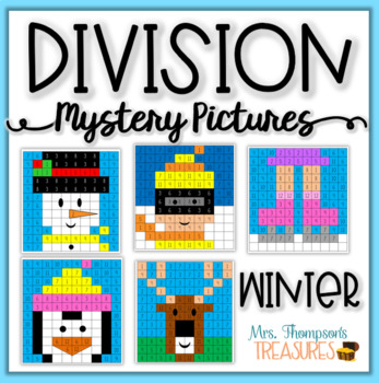 Division Mystery Pictures - Winter Activities