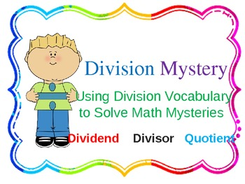 Division Mystery(Find the missing Divisor, quotient, and divisor)