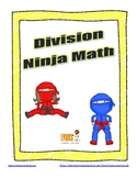 Division Ninja Math: Fact Fluency Practice/Self Correcting