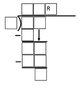 2 by 1 Digit Division Outline