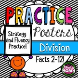 Division Strategies and Fluency Posters