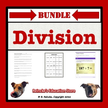 Division Package (Games and Worksheets)