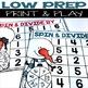 Division Partner Games For Fact Fluency {Winter Themed}