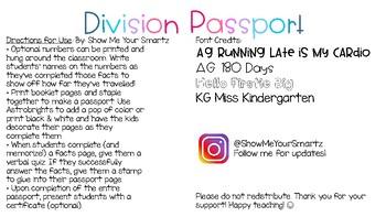 Division Passport!