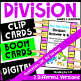 Division Pick, Flip and Check Cards [Australian UK NZ Edition]