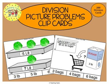 Division Clip Cards