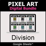 Division - Pixel Art Digital Bundle   Google Sheets   Dist