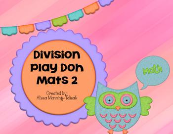 Division Play Doh Mats 2 (20 Interactive Mats)