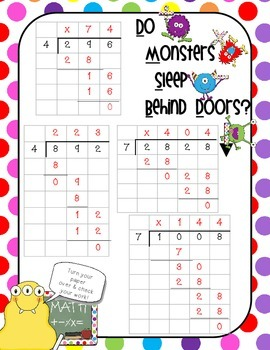 Division Poster - Help Kids Learn the Division Process in a Fun and Easy Way!