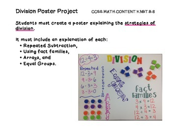 Division Poster Project