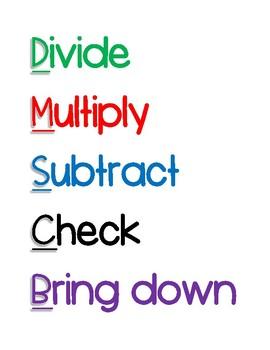 Division Poster Set
