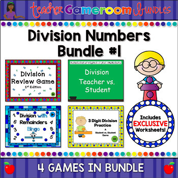Division Powerpoint Game Bundle