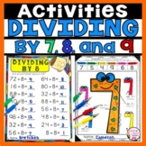 Division Divide by 7, 8 and 9