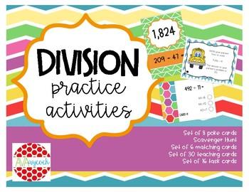 Division Practice Activities