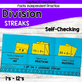 Division Practice Booklets