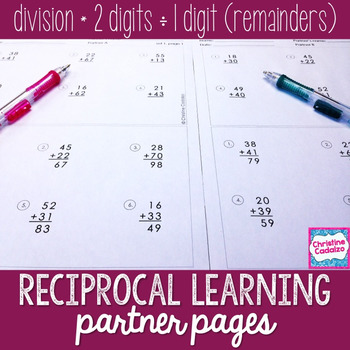 Division Practice Partner Pages