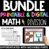 Division Practice Printable and Digital - Interactive Goog