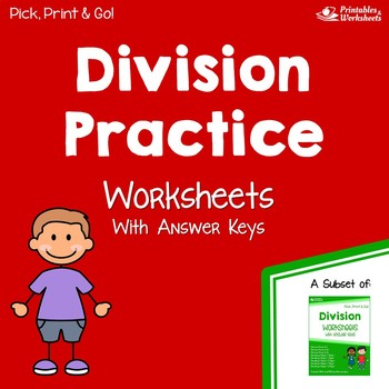 Division Practice Worksheets