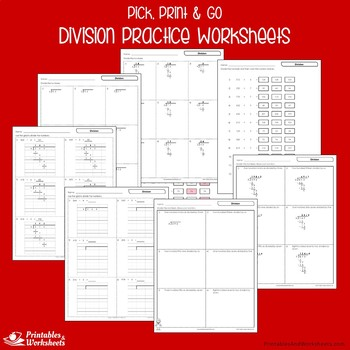 Division Practice Sheets