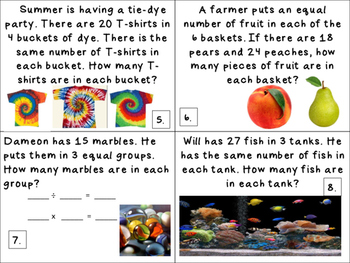 Division Practice for 3rd Graders