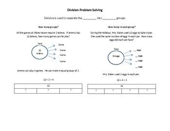 Division Problem Solving