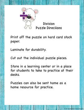 Division Puzzle Divisor 1