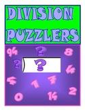Division Puzzlers