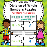 Division as Sharing Equal Groups Divisions Game 3rd Grade Math Puzzles 3.OA.2