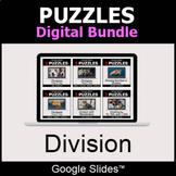 Division - Puzzles Digital Bundle | Google Slides | Distan
