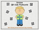 Division QR Code Flashcards (60 self-checking task cards w