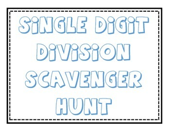 Division QR Code Scavenger Hunt- UPDATED!