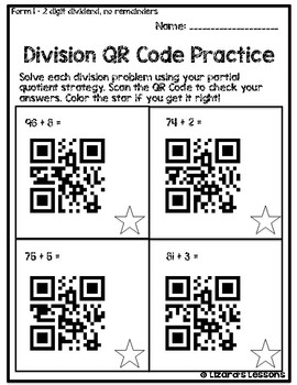 Division QR Codes