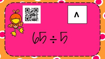 Division QR Codes-with remainders