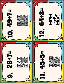 Division QR Task Cards