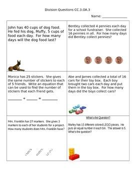 Division Questions CC.3.OA.3
