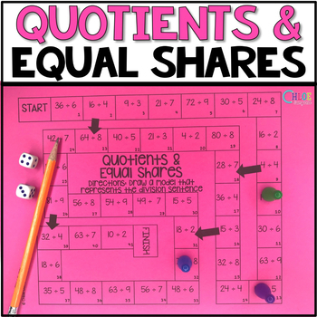 Division: Quotients and Equal Shares Board Game