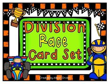 Division Race Card Set