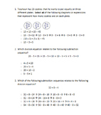 Division Related Representations (and Repeated Subtraction)