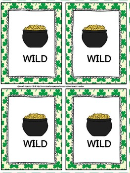 Division Relative to Multiplication Task Cards & Game (St. Patrick's Day)